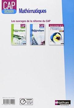 Livres Couvertures de Mathématiques - CAP Tertiaire - Groupement C