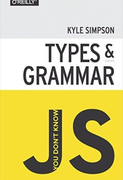 Livres Couvertures de You Don't Know JS: Types & Grammar