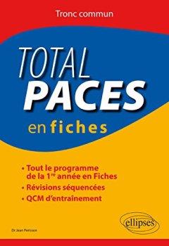 Livres Couvertures de Total PACES en Fiches Tronc Commun