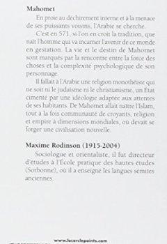 Livres Couvertures de Mahomet