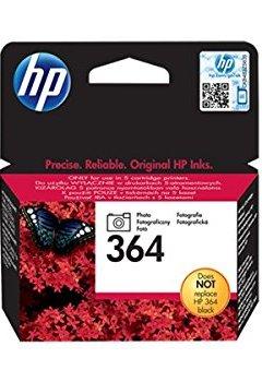 Livres Couvertures de HP 364 Cartouche d'encre d'origine 1 x photo noire 130 pages boîtier rigide