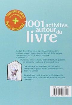 Livres Couvertures de 1001 activités autour du livre