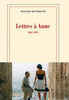 Livres Couvertures de Lettres à Anne (1962-1995)