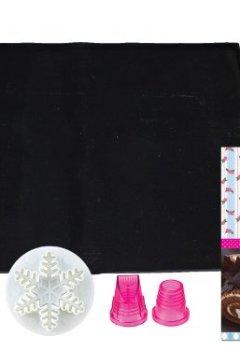 Livres Couvertures de Le Meilleur Pâtissier 95314 MP Kit Gâteaux Roulés Silicone