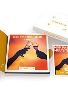 Livres Couvertures de SMARTBOX - Coffret Cadeau - BULLE DE BONHEUR À DEUX - 780 activités : dégustation ou aventure