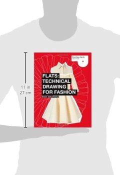 Livres Couvertures de Flats: Technical Drawing for Fashion