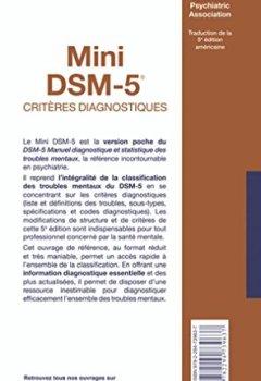 Livres Couvertures de Mini DSM-5 Critères Diagnostiques
