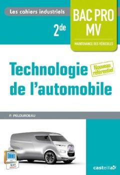Livres Couvertures de Technologie automobile 2e Bac Pro MVA