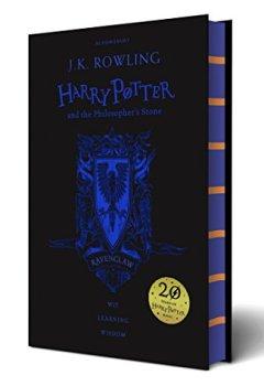 Buchdeckel von Harry Potter and the Philosopher's Stone. Ravenclaw Edition