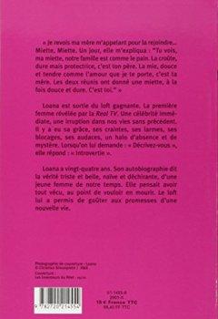 Livres Couvertures de Loana : Elle m'appelait ...Miette