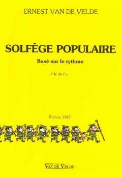 Livres Couvertures de Solfège populaire - clé de fa