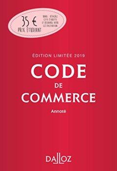 Livres Couvertures de Code de commerce 2019 annoté. Édition limitée - 114e éd.