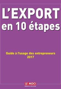 Livres Couvertures de L'export en 10 étapes : Guide à l'usage des entrepreneurs