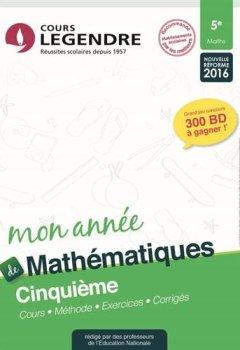 Livres Couvertures de Mathématiques 5e
