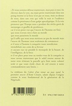 Livres Couvertures de Cahier d'un retour au pays natal