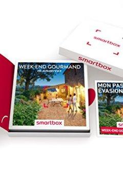 Livres Couvertures de SMARTBOX - Coffret Cadeau - WEEK-END GOURMAND EN AMOUREUX - 235 Séjours : Maisons d'Hôtes, Hôtels de Charme, Châteaux ou Manoirs