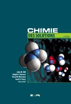 Livres Couvertures de Chimie des Solutions, 2ème Ed. + eText