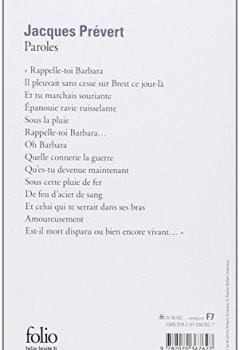 Livres Couvertures de Paroles