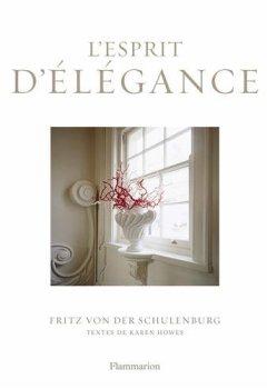 Livres Couvertures de L'esprit d'élégance : Le luxe de l'épure dans le décor intérieur