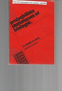 Livres Couvertures de Probabilités, statistiques et biologie