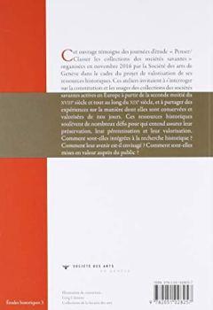 Livres Couvertures de PENSER/CLASSER LES COLLECTIONS DES SOCIÉTÉS SAVANTES.
