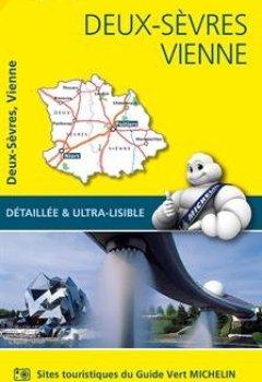 Livres Couvertures de Carte Deux-Sèvres, Vienne Michelin