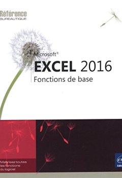 Livres Couvertures de Excel 2016 - Fonctions de base