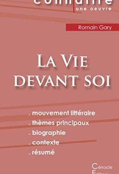 Livres Couvertures de Fiche de Lecture La Vie Devant Soi de Romain Gary (Analyse Littéraire de Référence)