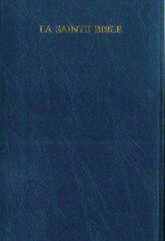 Livres Couvertures de Bible Segond 1910 avec onglets vinyle marine