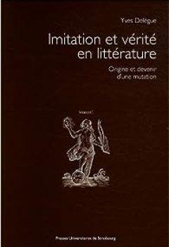 Livres Couvertures de Imitation et vérité en littérature : Origine et devenir d'une mutation