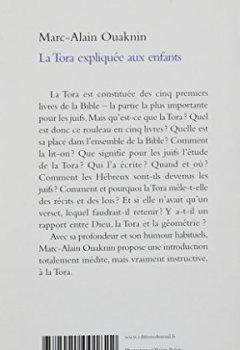 Livres Couvertures de La Tora expliquée aux enfants