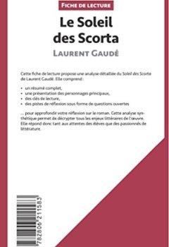 Livres Couvertures de Le Soleil des Scorta de Laurent Gaudé (Fiche de lecture): Résumé Complet Et Analyse Détaillée De L'oeuvre
