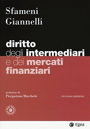 Diritto degli intermediari e dei mercati finanziari