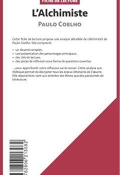 Livres Couvertures de L'Alchimiste de Paulo Coelho (Fiche de lecture): Résumé Complet Et Analyse Détaillée De L'oeuvre