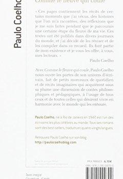 Livres Couvertures de Comme le fleuve qui coule : Récits 1998-2005