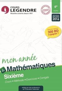 Livres Couvertures de Mathématiques 6e