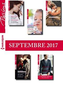 Livres Couvertures de 10 romans Passions + 1 gratuit (nº675 à nº679 - Septembre 2017))