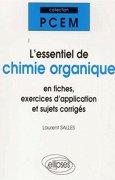 Livres Couvertures de L'essentiel de chimie organique