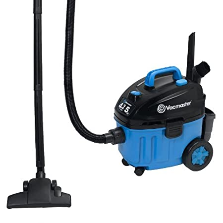 This Vacmaster Wet/Dry Floor Vacuum is powered by an industrial-strength 2-stage motor that runs quiet, is long-lasting and creates powerful suction. As lightweight as it is easy to use with features like automatic cord rewind and triple filtration. ...