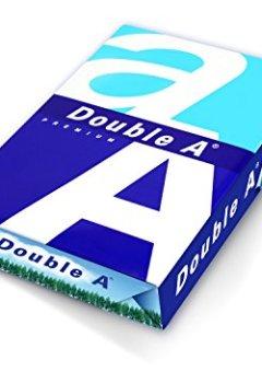 Livres Couvertures de Double A Lot de 5 Ramettes de papier 500 feuilles A4 80 g Extra Blanc