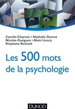 Livres Couvertures de Les 500 mots de la psychologie
