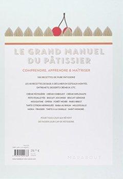 Livres Couvertures de Le grand manuel du pâtissier
