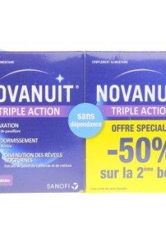 Livres Couvertures de Novanuit Sommeil 2X30 Gélules