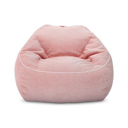 XL Corduroy Bean Bag Chair Daydream Pink