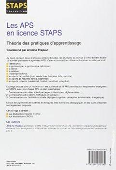 Livres Couvertures de Les APS en licence STAPS: Théorie des pratiques d apprentissage