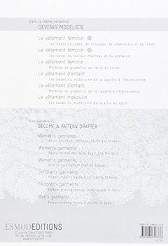 Livres Couvertures de Devenir modéliste la lingerie féminine: Become a pattern drafter. Women's underwear.