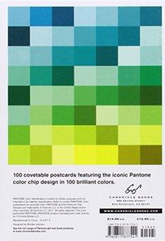 Livres Couvertures de Pantone 100 Postcard