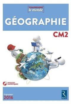 Livres Couvertures de Géographie CM2 (+ CD-Rom) - Nouvelle édition avec évaluations