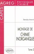 Livres Couvertures de Montage de Chimie inorganique : CAPES et Agrégation de Physique et chimie, tome 2