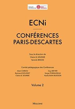 Livres Couvertures de ECNI : Conférences Paris-Descartes volume 2